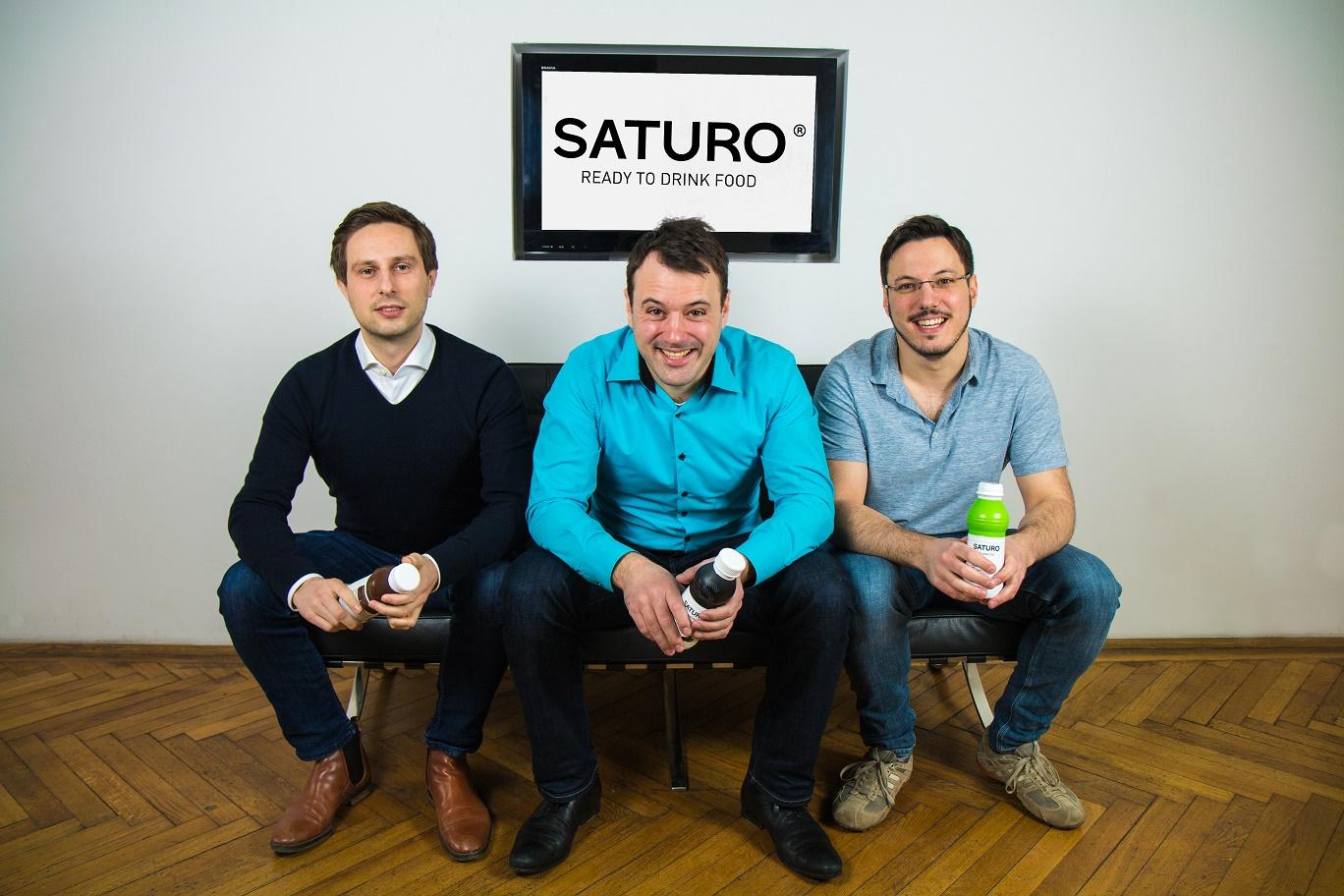 Zakladatelé startupu Saturo v čele s Hannesem Feistenauerem