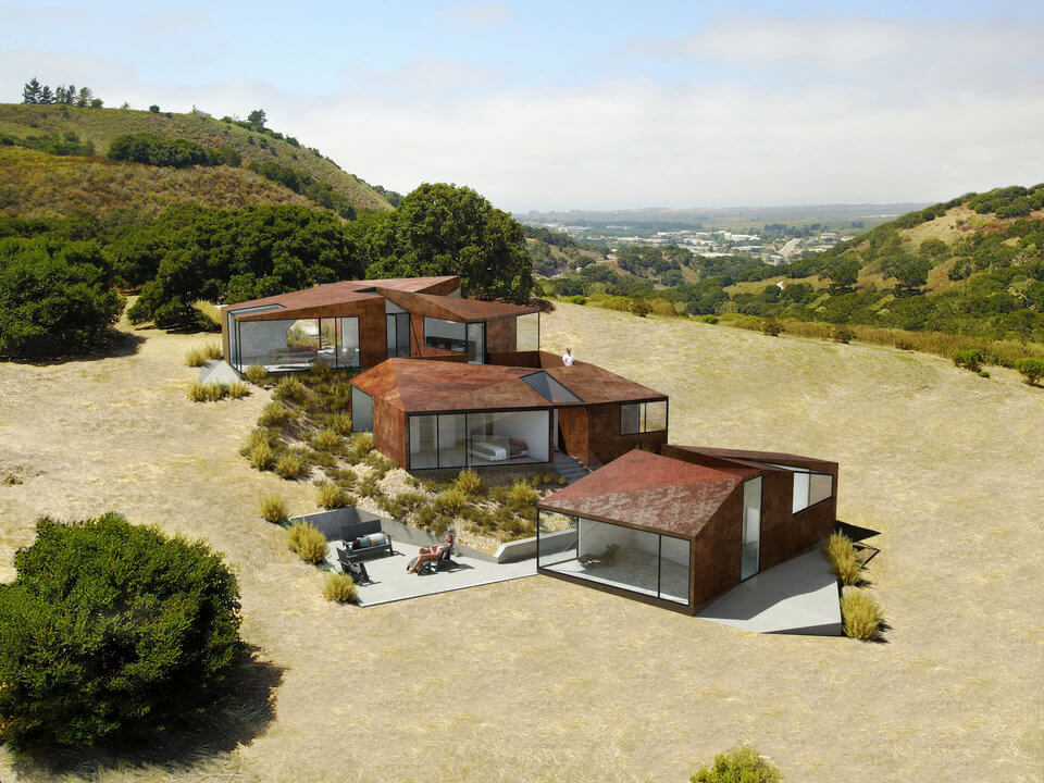 Návrh jednoho z domů