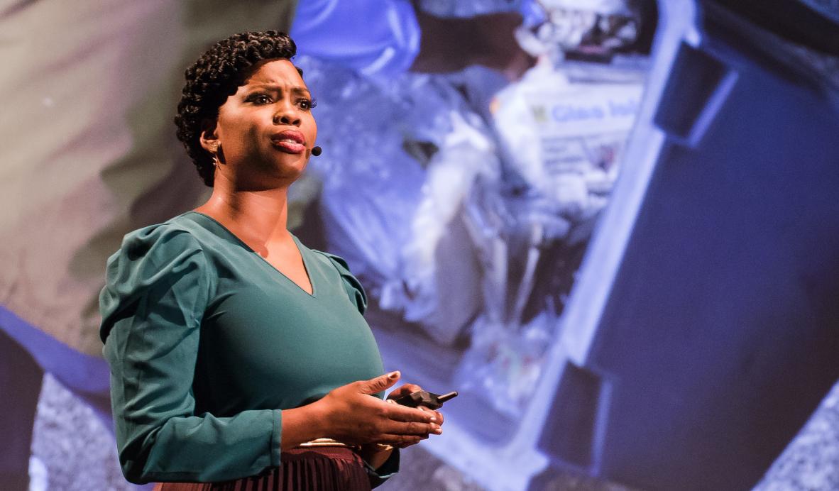 Jasmine Crowe, zakladatelka a CEO startupu Goodr