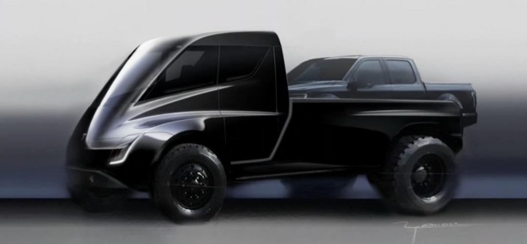 Elon Musk odhalil parametry chystaného pickupu Tesly. Má utáhnout až 136 tun
