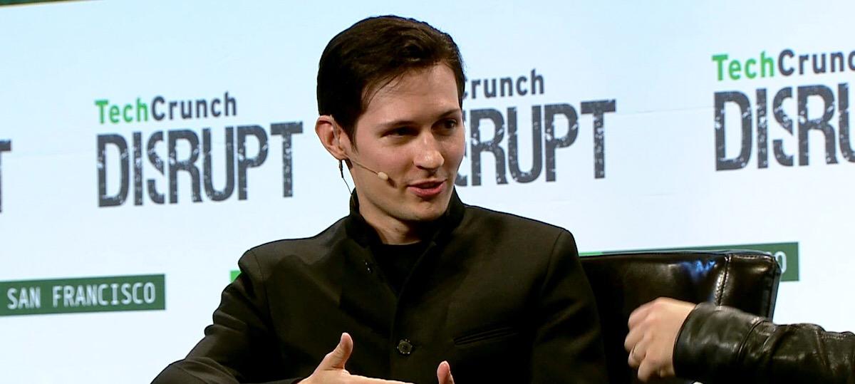 Zakladatel Telegramu, Pavel Durov
