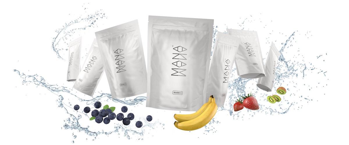 Nejnovější varianta nápoje MANA s označením Mark 5. Do budoucna by měly přijít i ovocné příchutě