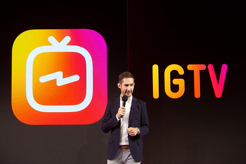 CEO Instagramu, Kevin Systrom