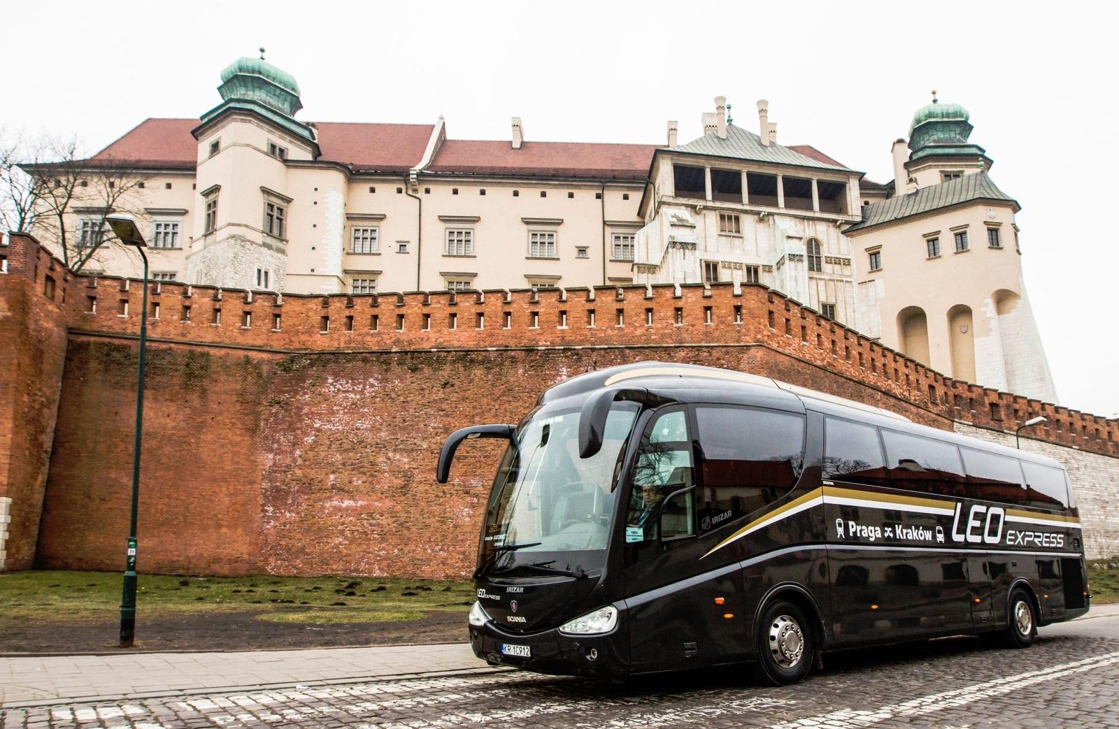 Autobus LeoExpressu