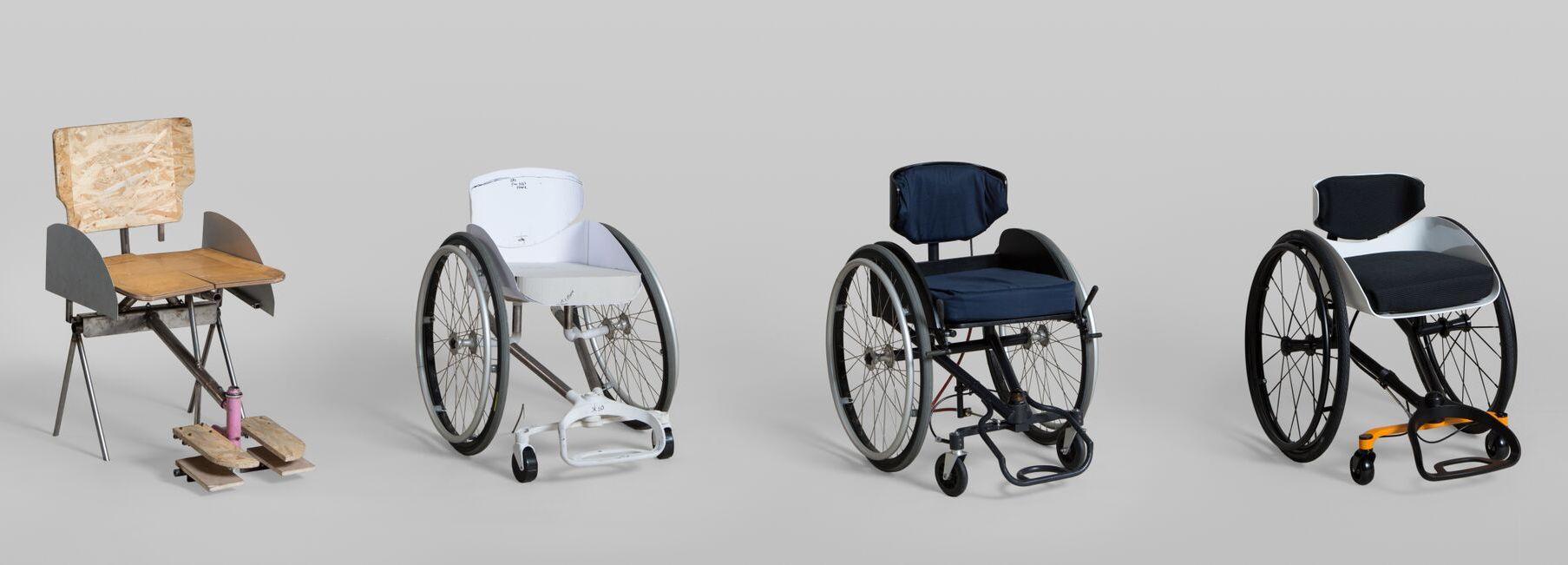 Postupný vývoj vozíku The Reagiro