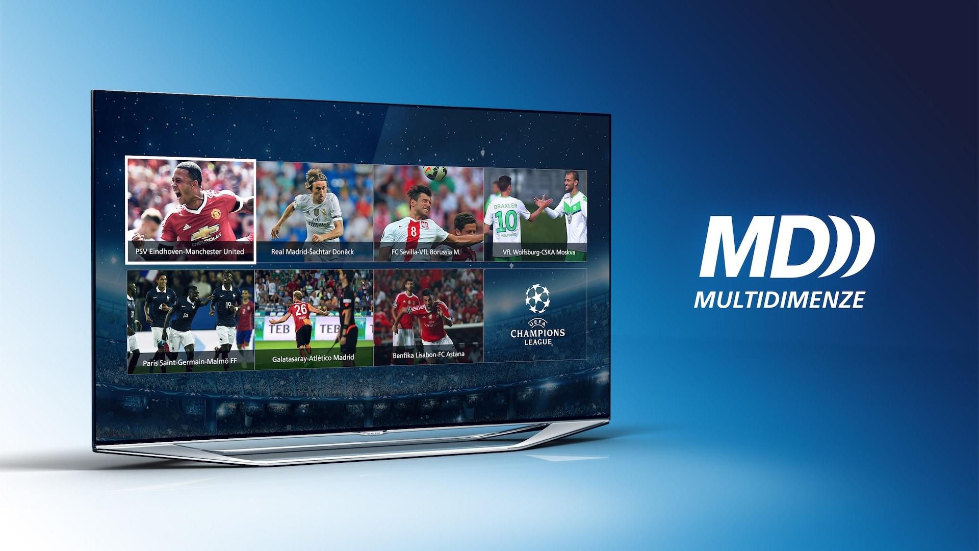 Multidimenze v O2 TV umožňuje sledovat několik sportovních přenosů najednou