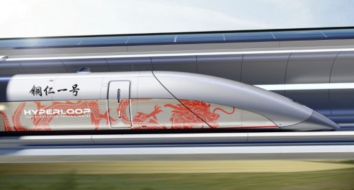Hyperloop TT podepsal dohodu v Číně, první trať dopravního systému bude měřit deset kilometrů