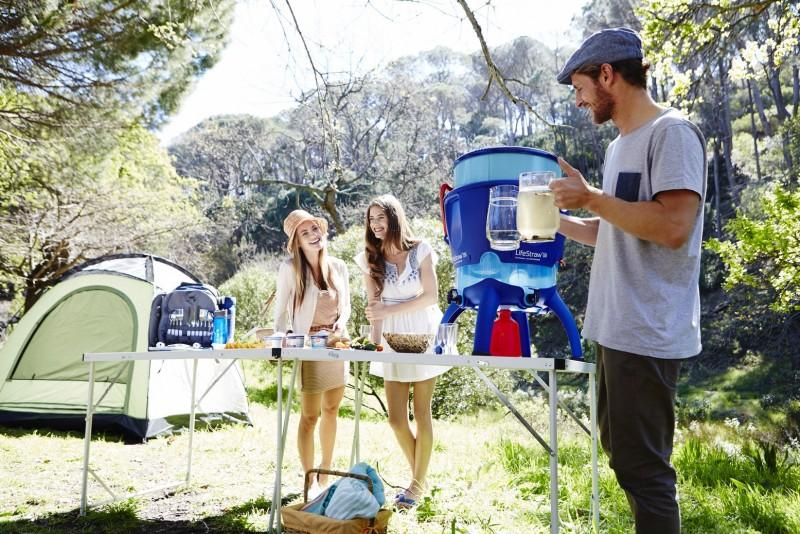 Nádoba LifeStraw určená k filtraci většího množství vody