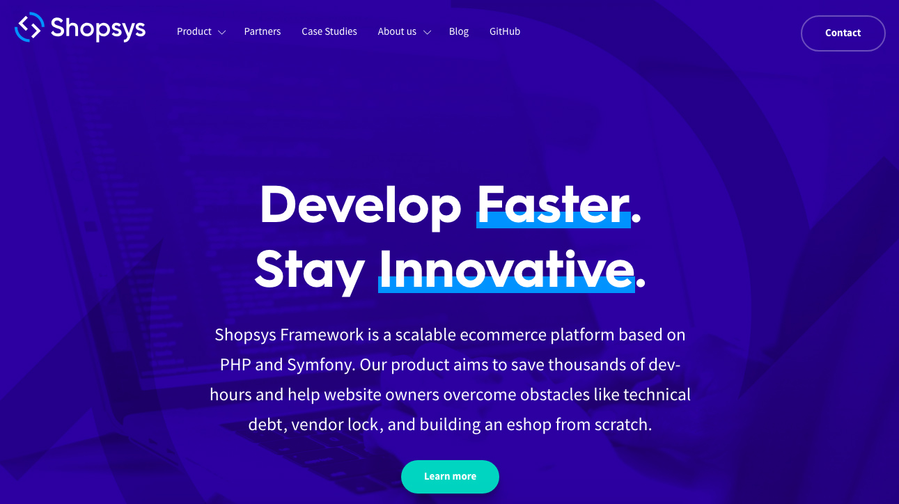 Shopys Framework