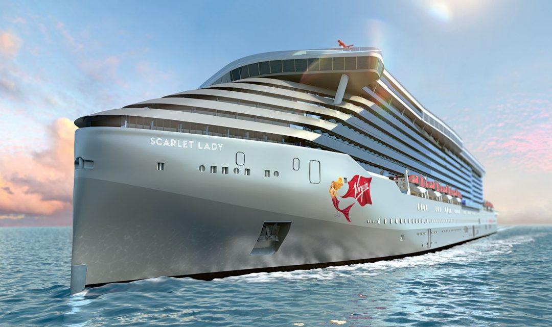 Podívejte se, jak bude vypadat výletní loď Virgin Voyages miliardáře Richarda Bransona