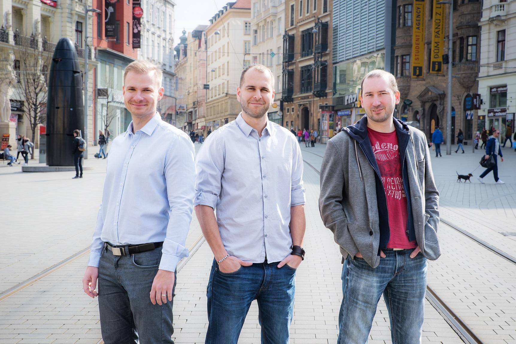 Zakladelé startupu Tomáš Brychta, Martin Březina, Johny Patera