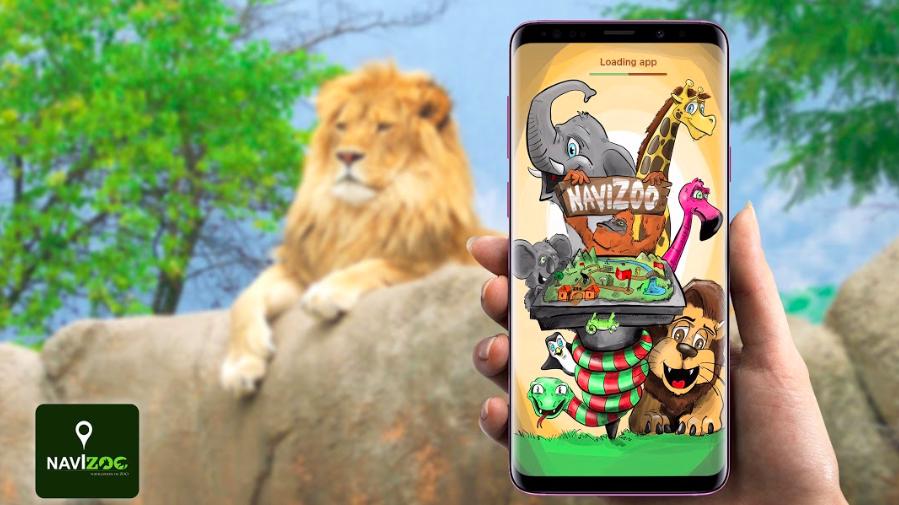 Díky slovenské aplikaci NaviZoo se můžete navigovat v zoo za pomoci interaktivní mapy