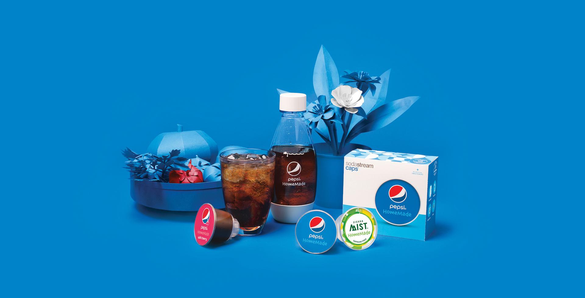 Speciální edice Pepsi ve spolupráci se SodaStream z roku 2015
