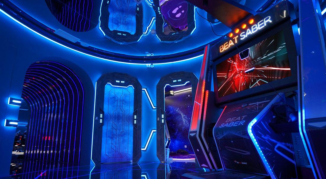 První pohled na arkádové automaty pro Beat Saber