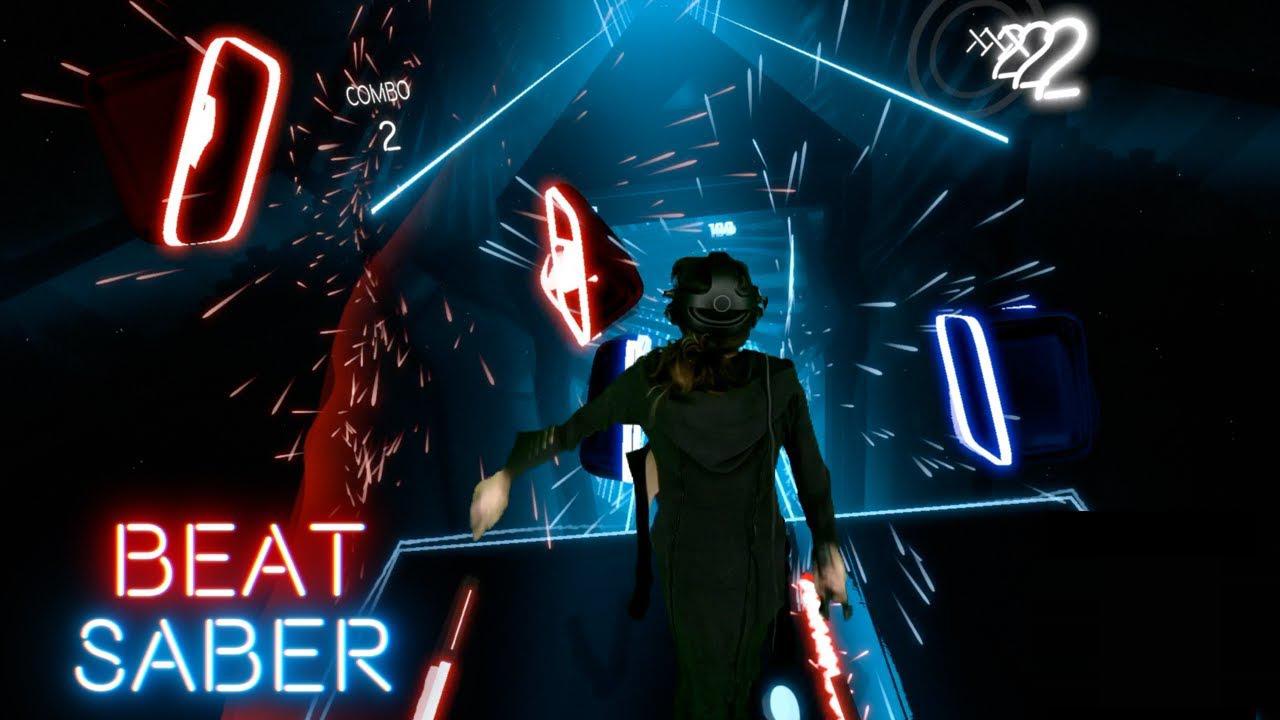Beat Saber přináší zajímavý mix hry Guitar Hero a sci-fi snímku Tron