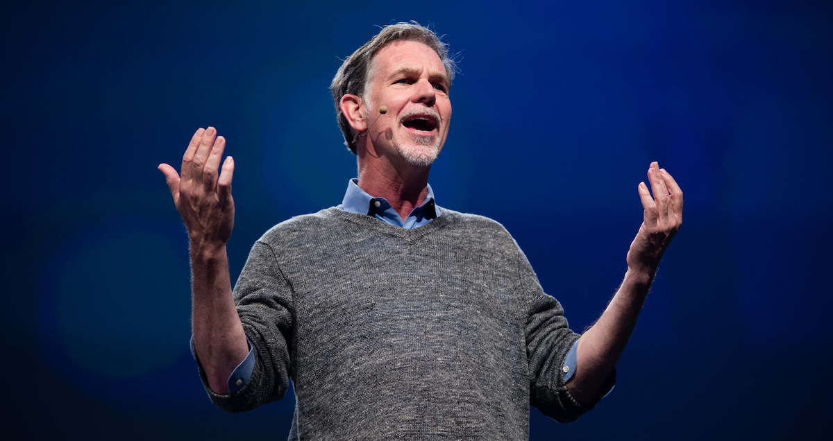 Reed Hastings, CEO Netflixu