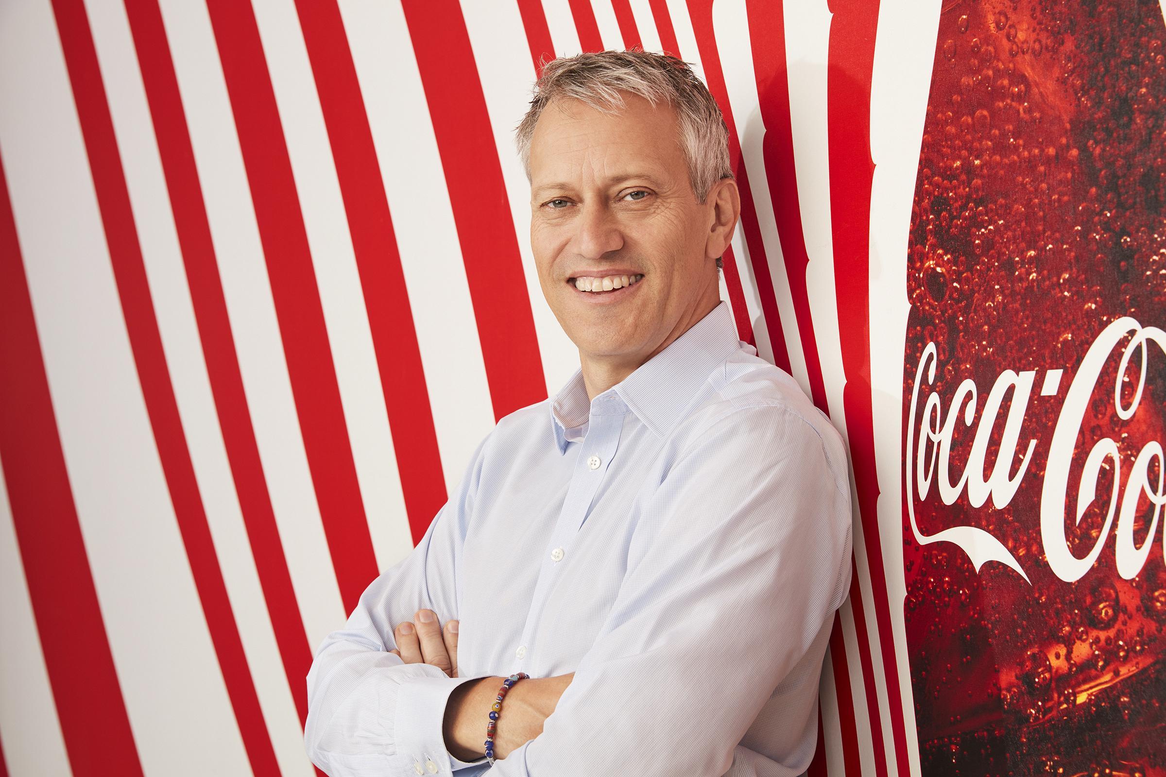 James Quincey, prezident a CEO Coca-Coly