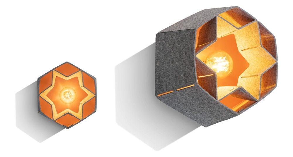 Designová kolekce kancelářského nábytku, který je vyroben z vylovených plastů