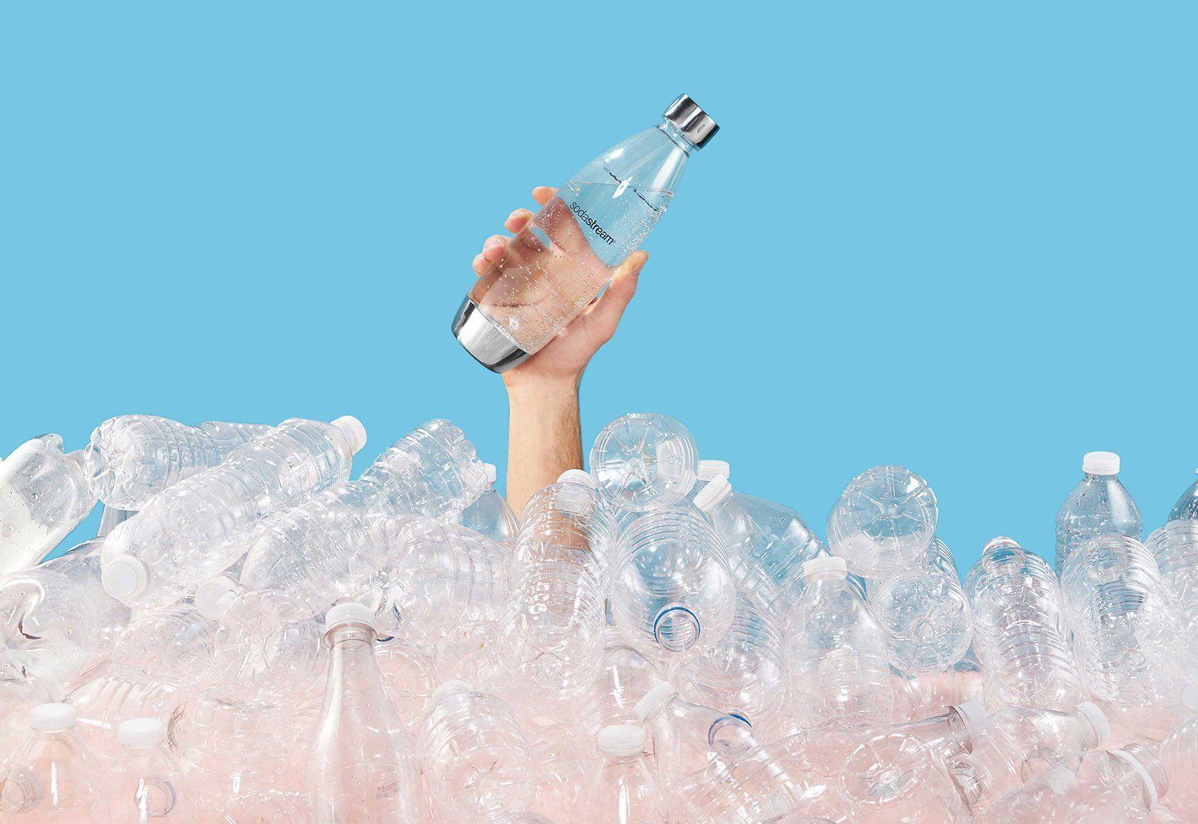 Znovupoužitelná lahev SodaStream ušetří více než 3 700 plechovek a plastových lahví