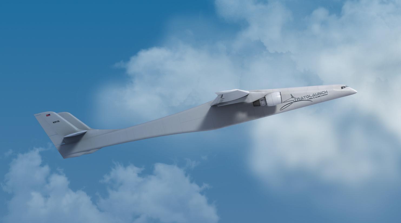 Ve vzduchu zatím obří letadlo Stratolaunch nebylo