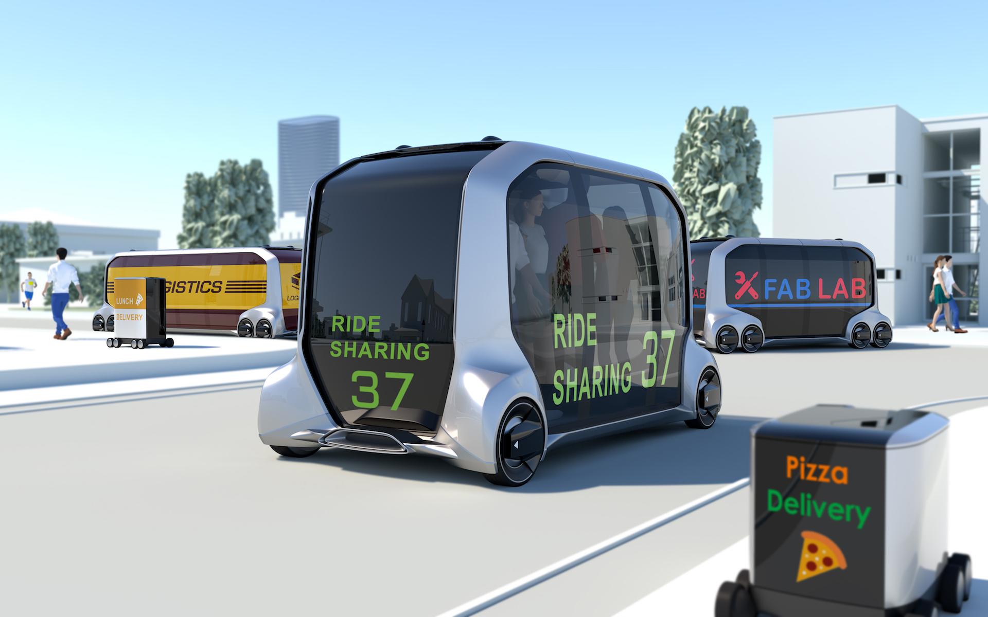 Koncept vozítek e-Palette od Toyoty