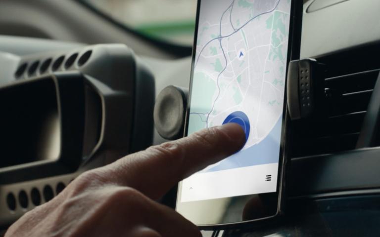 Uber a aplikace pro řidiče