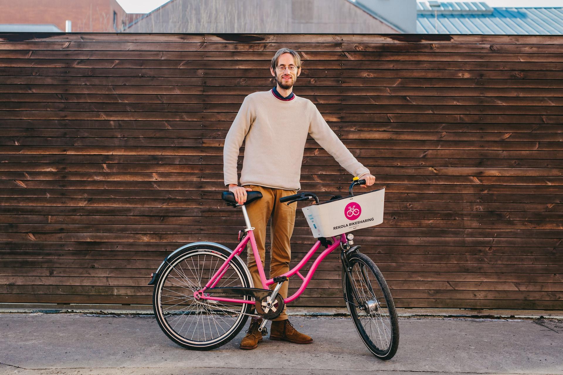 Vítek Ježek, zakladatel a ředitel firmy Rekola Bikesharing