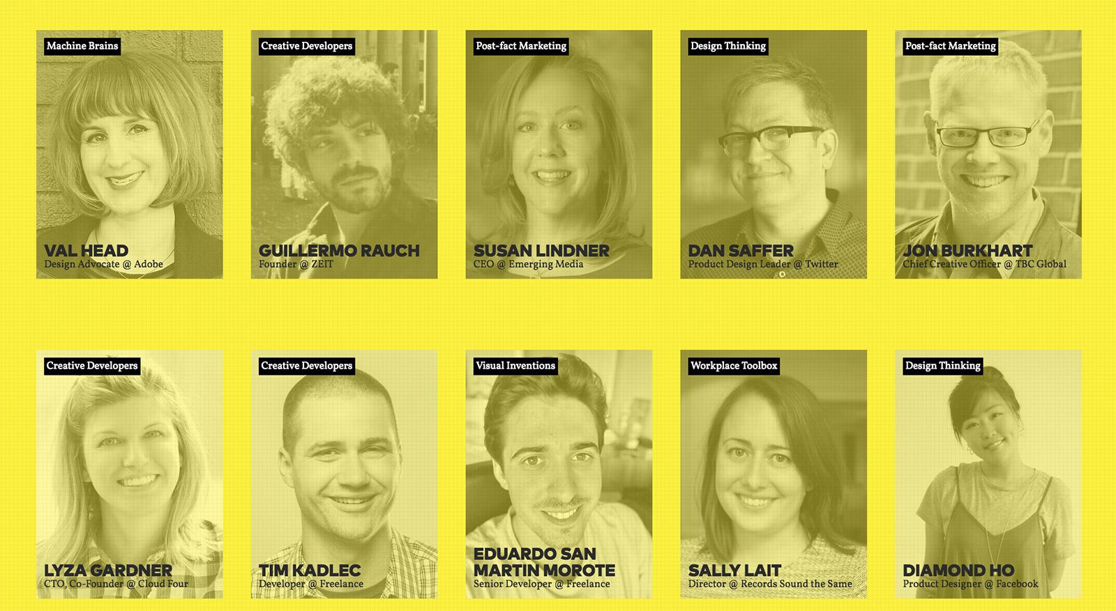 WebExpo letos láká na zajímavou plejádu řečníků
