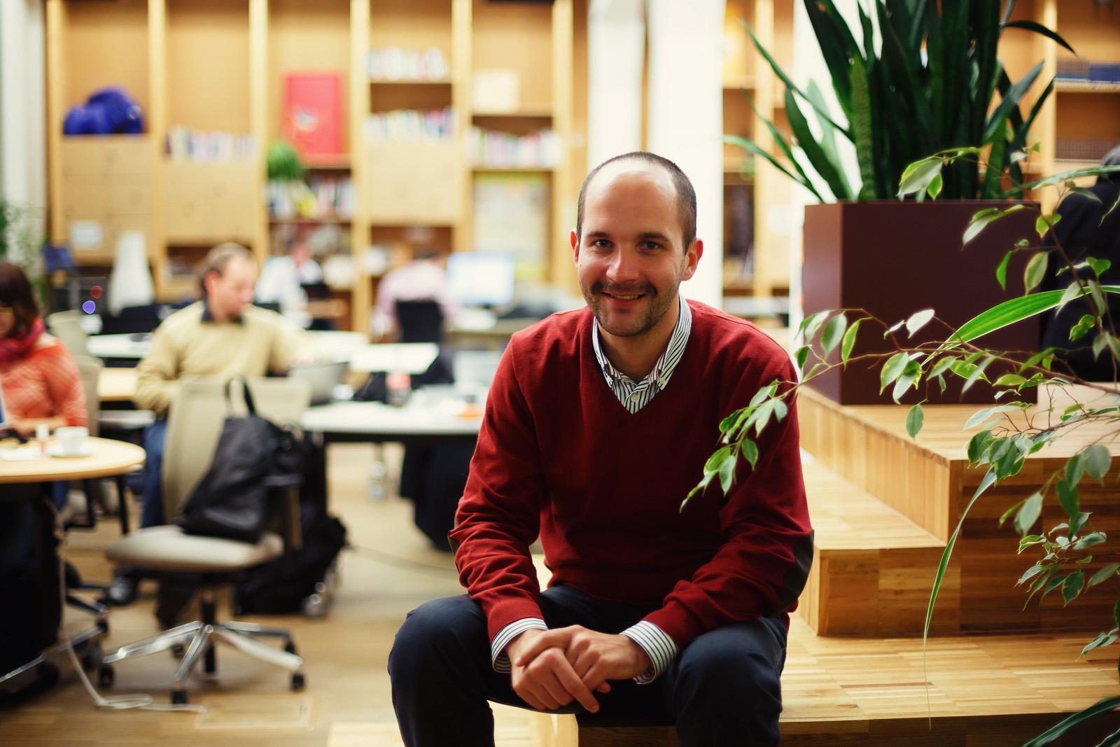 Zdeněk Rudolský, výkonný ředitel Hub Ventures