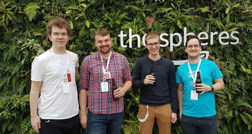 Alquist tým na summitu The Alexa Prize v Seattlu (1)