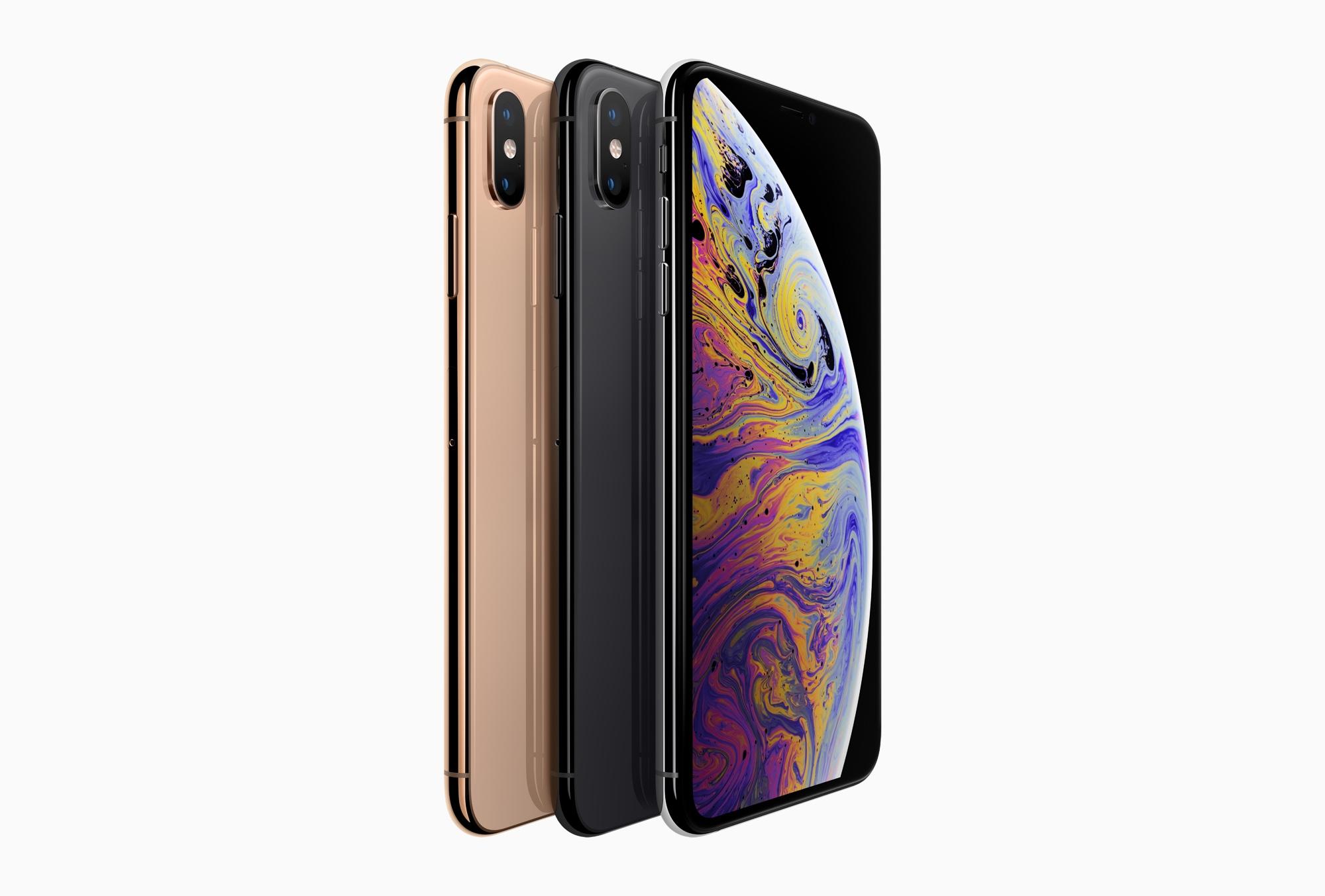 iPhone XS přichází ve třech barvách
