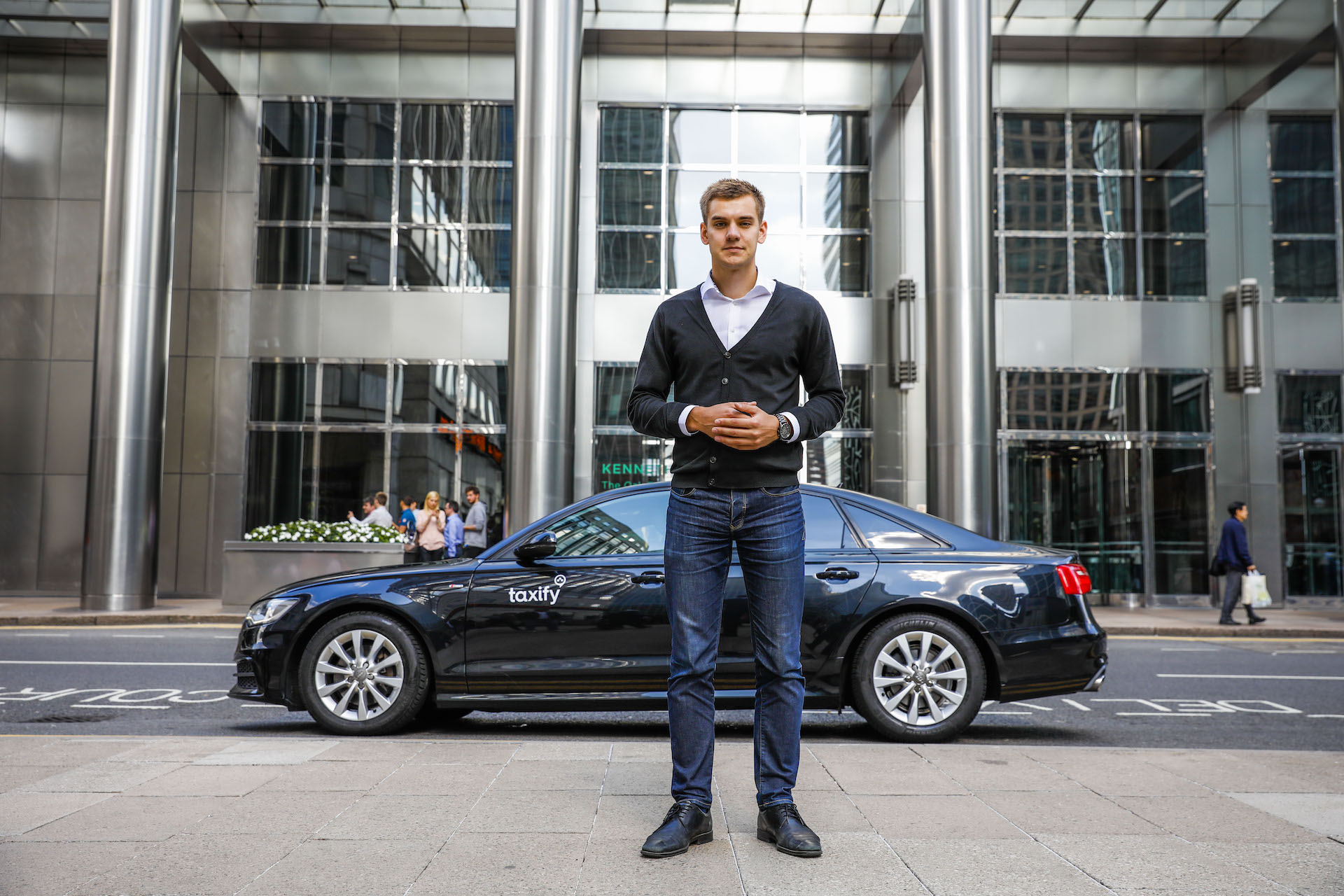 Markus Villig, spoluzakladatel a CEO Taxify