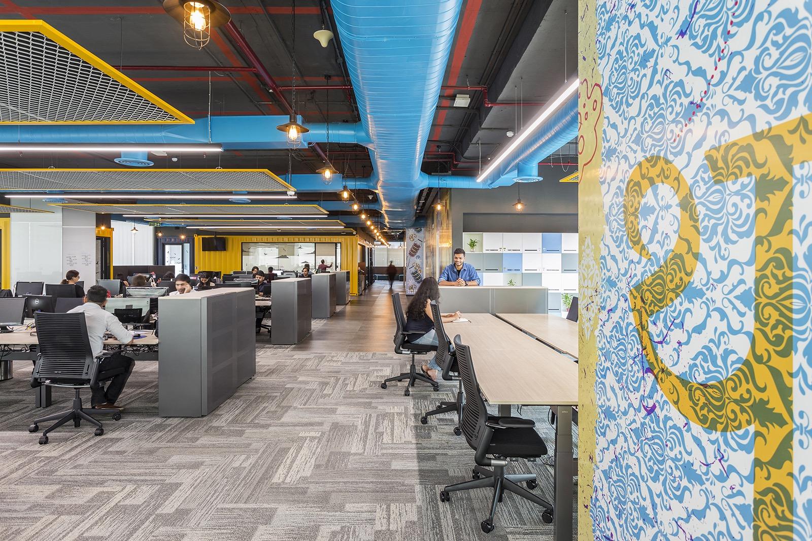 Open-space kanceláře