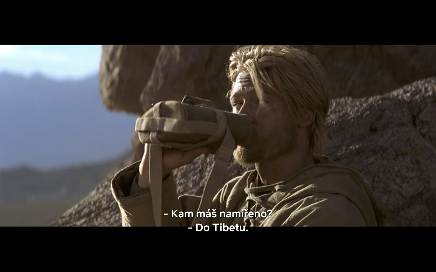 """Jeden z filmů s českými titulky na Netflixu – """"7 let v Tibetu"""""""