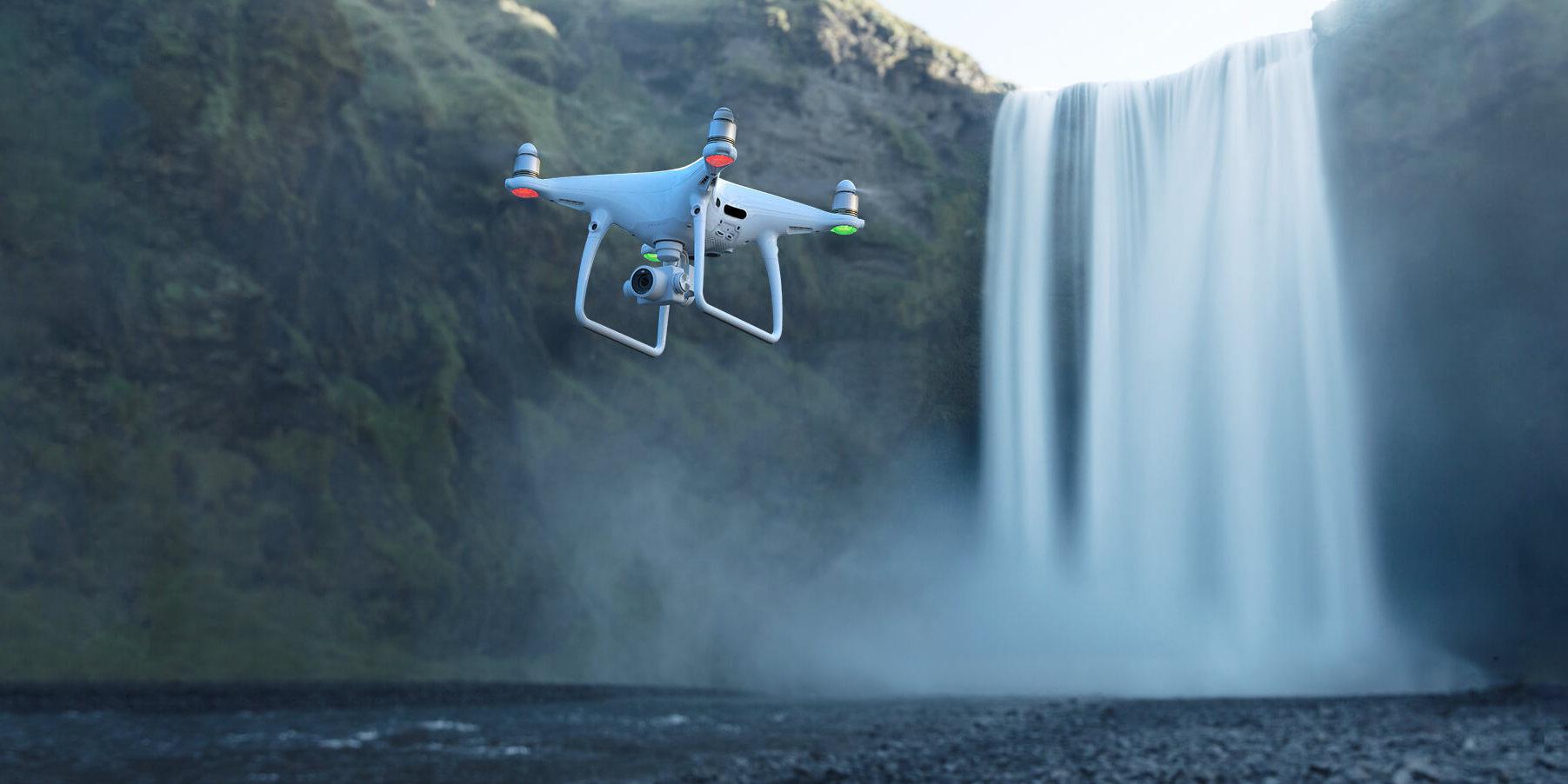 Populární DJI Phantom 4 vydrží ve vzduchu jen 30 minut