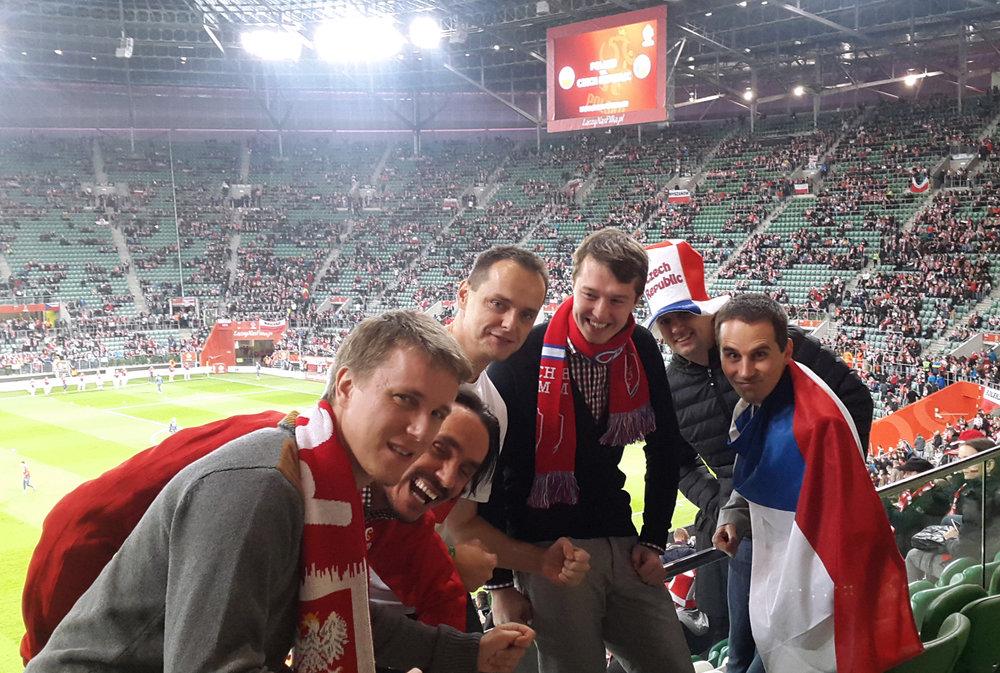 Česko-polský tým, který v Mitonu rozvíjel Domodi a Glami