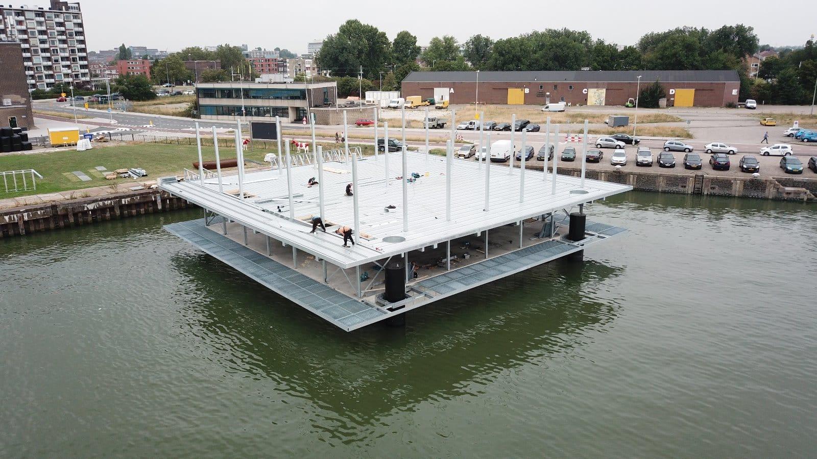 Plovoucí farma se otevře v rotterdamském přístavu do konce roku
