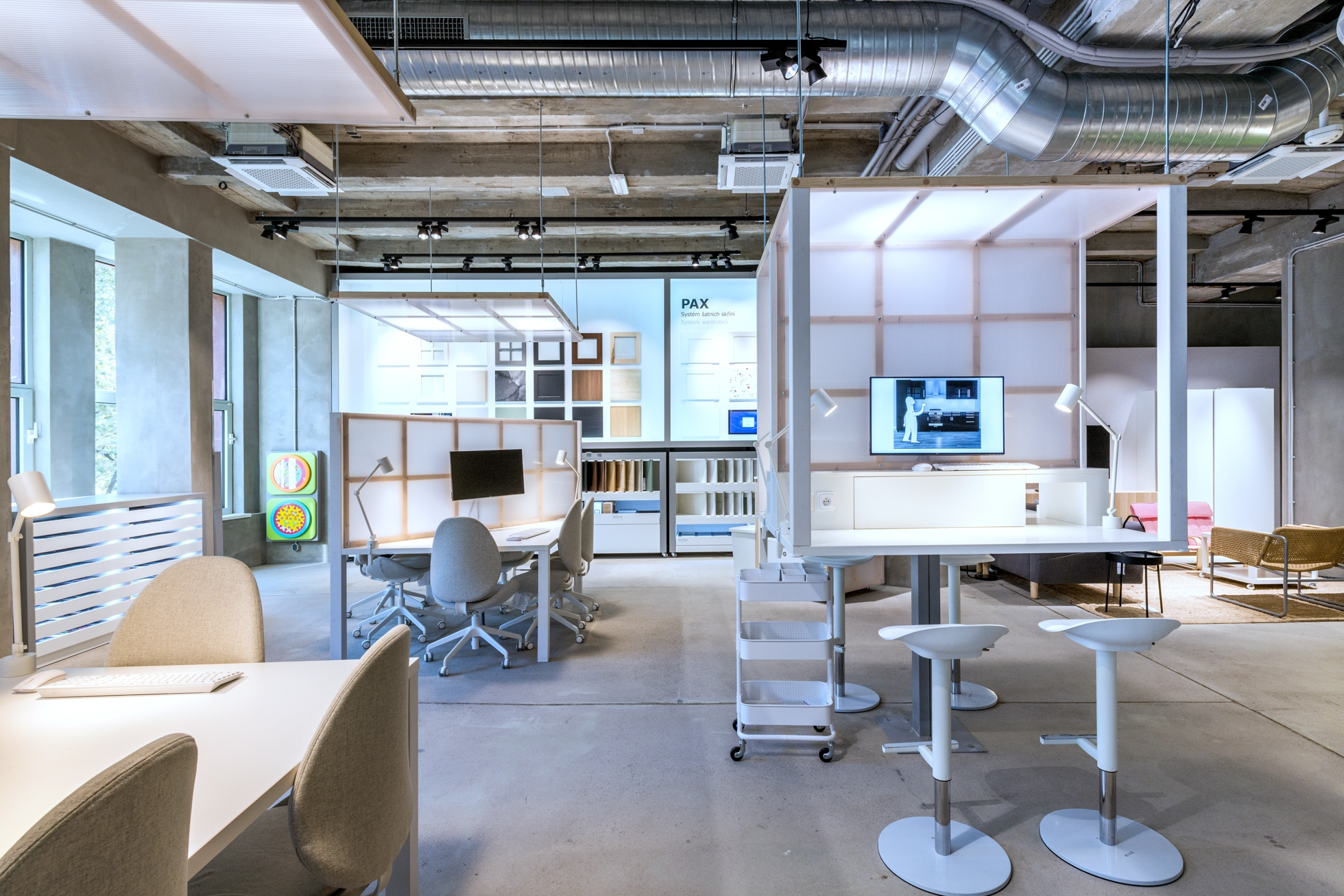 V IKEA Point najdete i plánovací studio