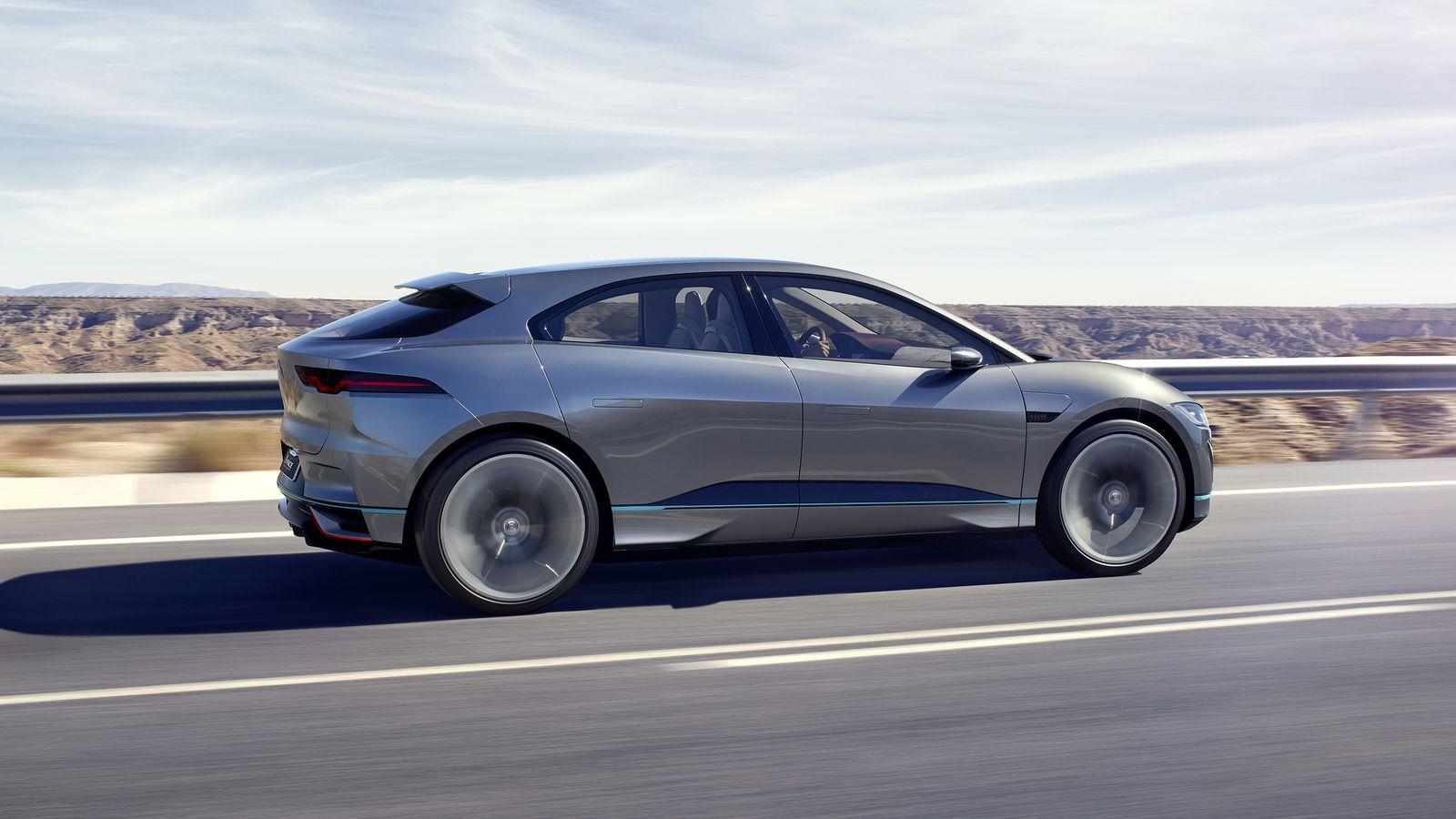 Konkurenční elektrické SUV Jaguar I-Pace