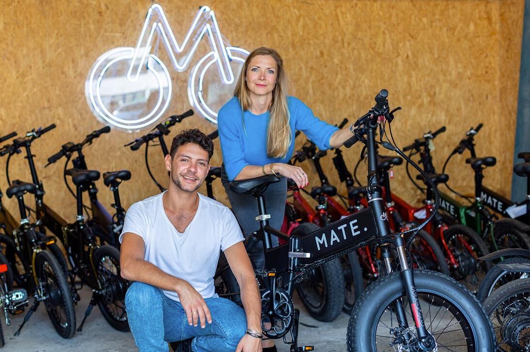 Sourozenci Christian Adel Michael a Julie Kronstrøm, zakladatelé Mate.bike