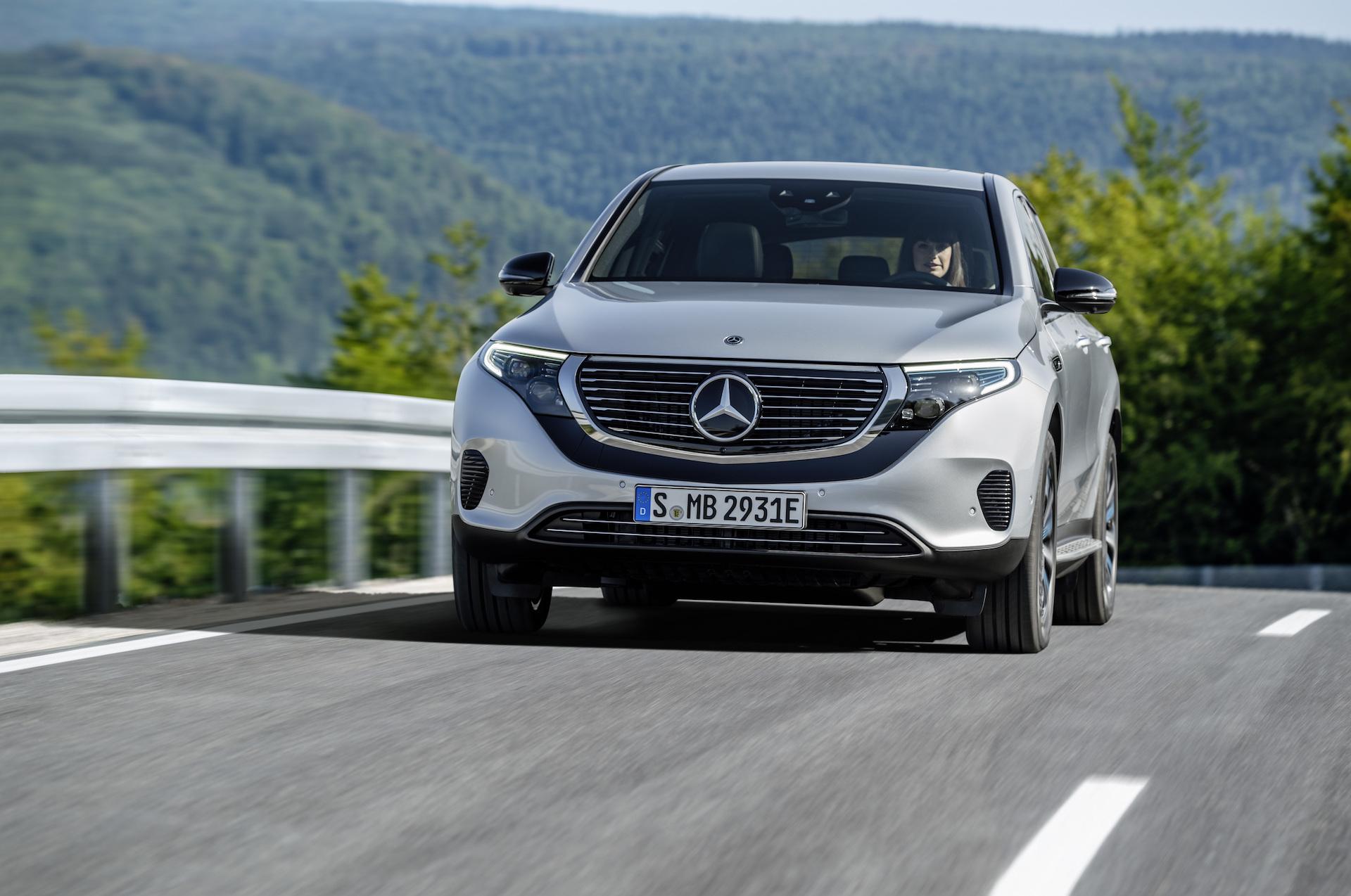 Elektrický Mercedes-Benz EQC