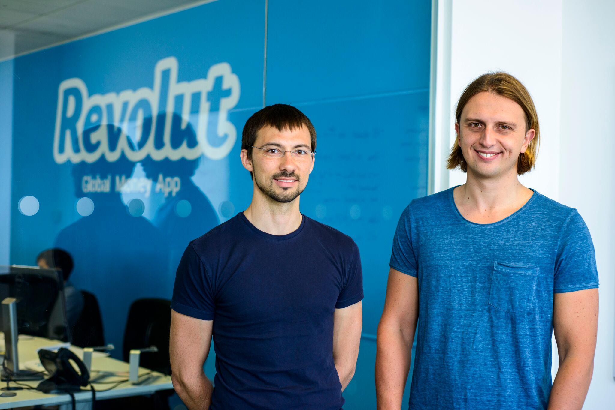 Spoluzakladatelé Revolutu Nikolay Storonsky (CEO) a Vlad Yatsenko (CTO)