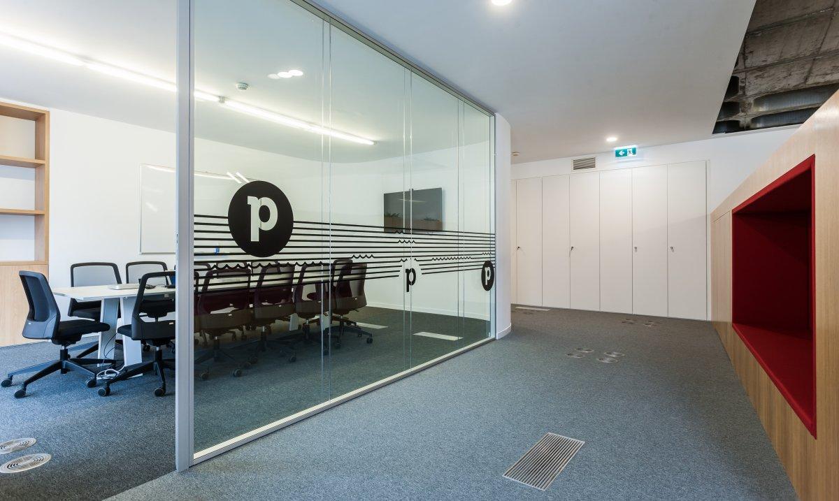 Část stávajících kanceláří estonského Pipedrive