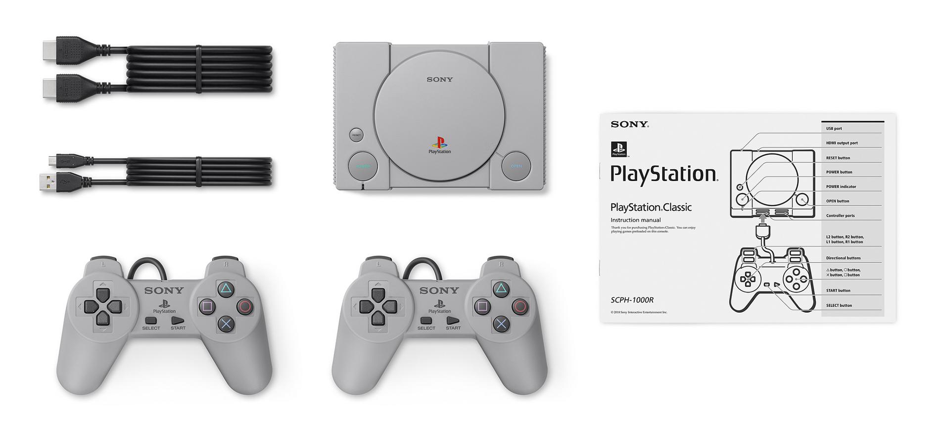 Kompletní balení PlayStation Classic