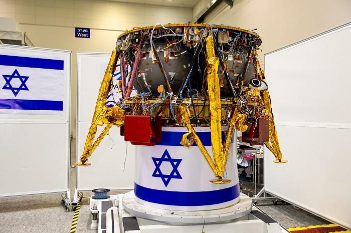 Vesmírné plavidlo SpaceIL v přípravě