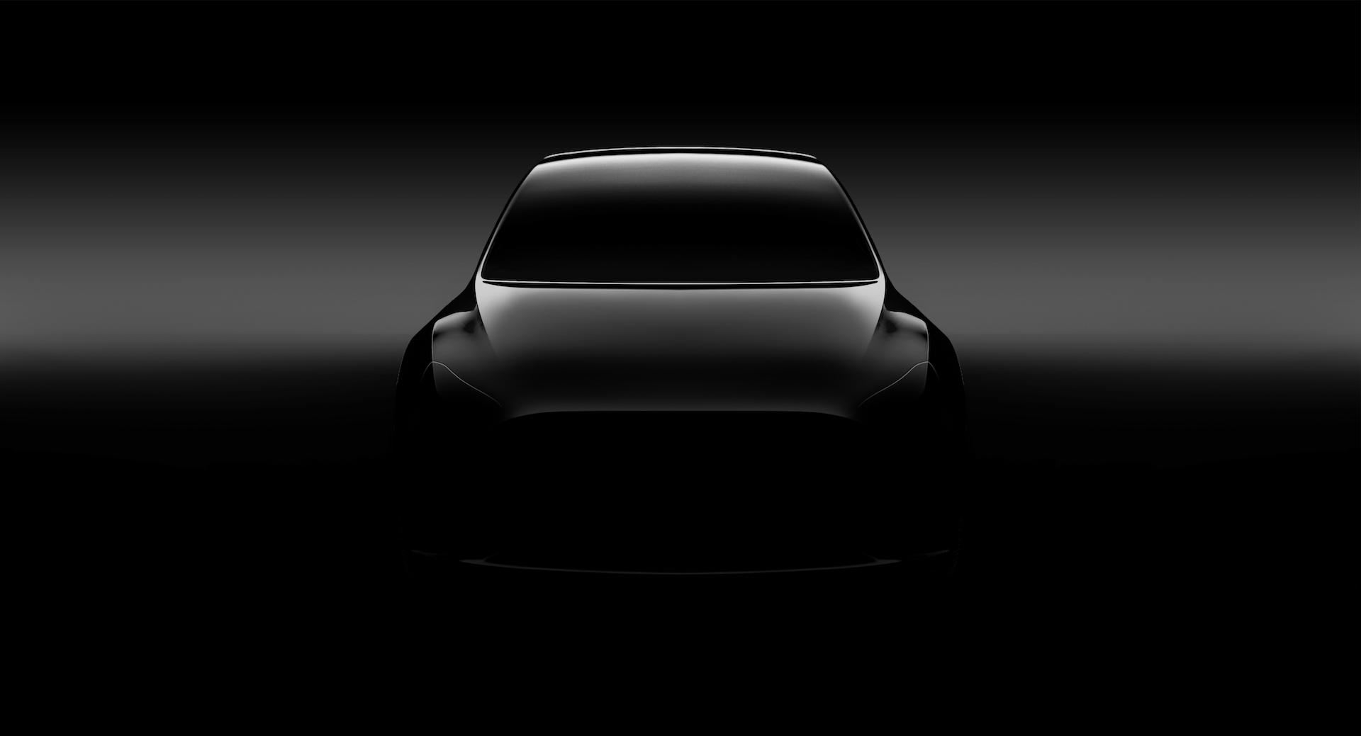 Dosud nepředstavený Tesla Model Y