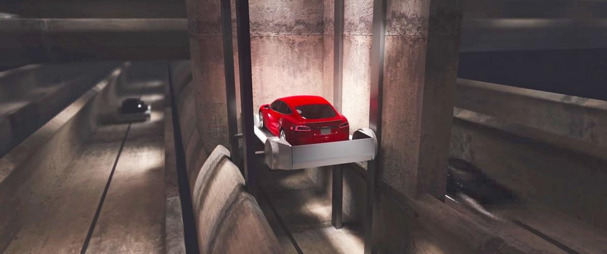 Návrh speciálního výtahu pro auta do podzemního železničního systému