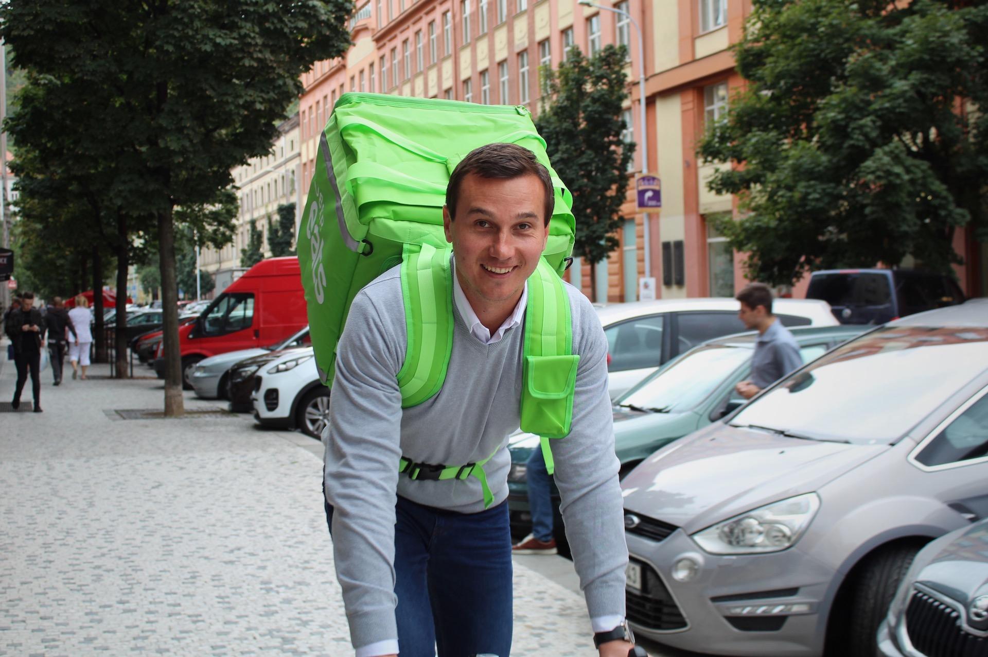 Tomáš Peťovský, šéf Uber Eats pro Česko