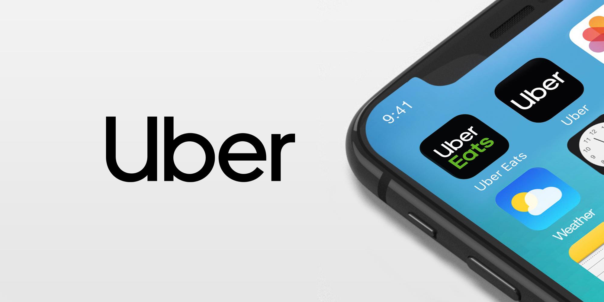 Nové logo Uberu i ikony aplikací
