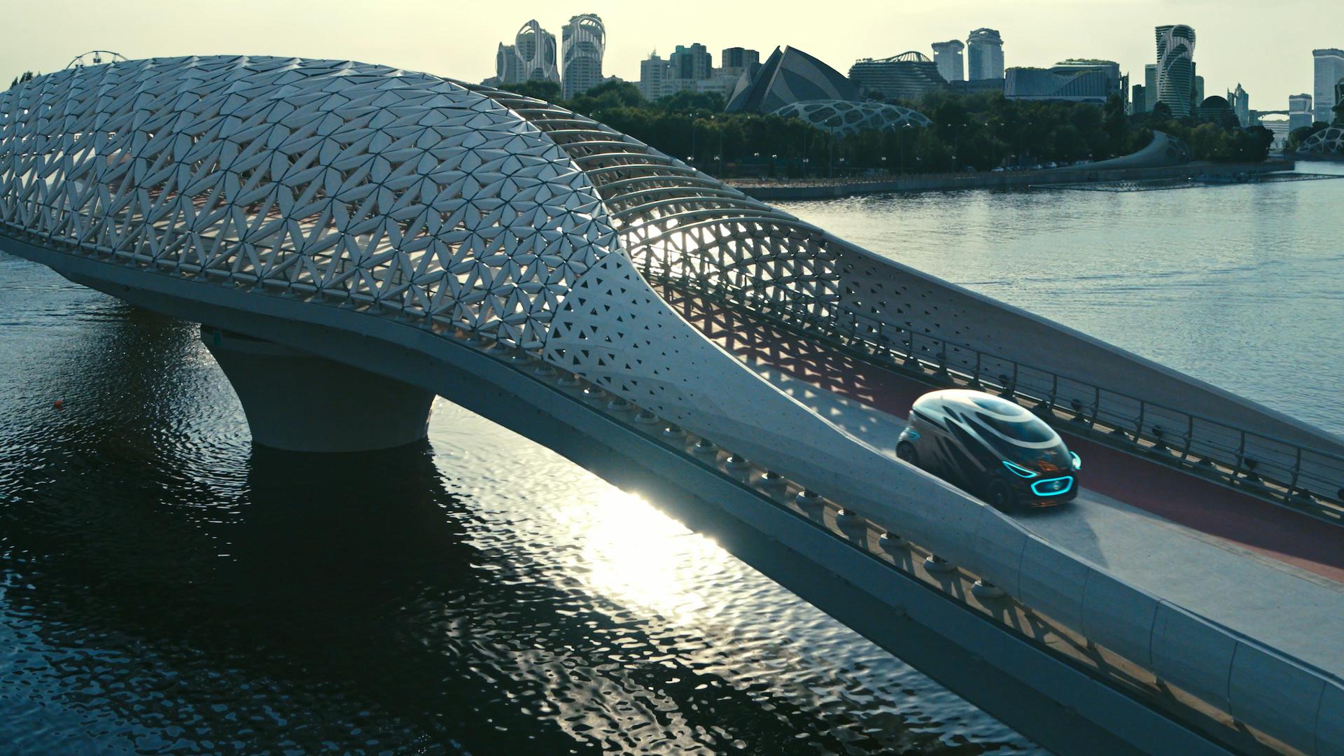 Koncept Vision Urbanetic od Mercedes-Benz